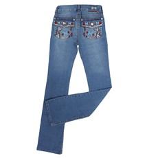 Calça Boot Cut Feminina Tassa Gold Jeans Claro 23861