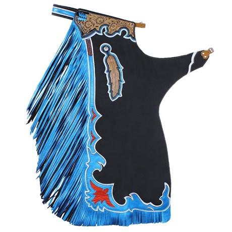 Calça de Montaria em Touro Azul Master Bulls 20695