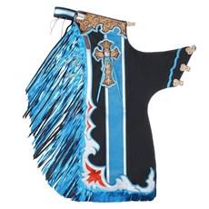Calça de Montaria em Touro Azul Master Bulls 22187