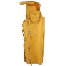 Calça de Montaria Fechada Vaqueta Bronc-Steel Amarela 21261