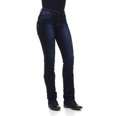 Calça Feminina Azul Escuro Rodeo Western com Elastano 24704