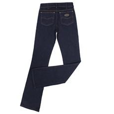 Calça Feminina Boot Cut Jeans Escuro Tassa 23876