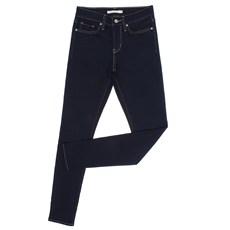 Calça Feminina Skinny com Elastano Azul Escuro Levi's 28112