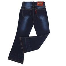 Calça Flare Infantil Feminina Jeans Azul Rodeo Western 22585