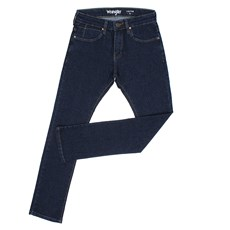 Calça Jeans Azul Masculina Slim com Elastano Wrangler Original 28417