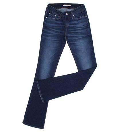 Calça Jeans Boot Cut Azul Feminina Levi's 27057