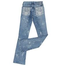 Calça Jeans Boot Cut Feminina com Elastano Tassa Gold 24853