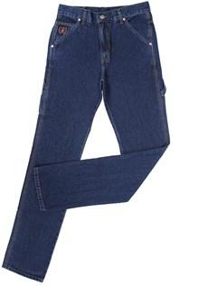 Calça Jeans Carpinteira Masculina Azul  - Dock's 18704