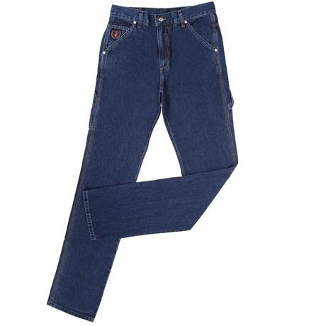 Calça Jeans Carpinteira Masculina Azul - Dock s 18704 - Rodeo West 9d543244f39