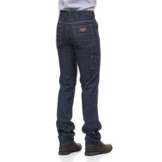 Calça Jeans Carpinteira Masculina Azul Escuro - Dock's 18703