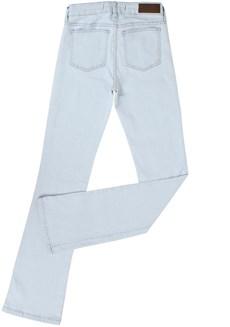 Calça Jeans Delavê Feminina Boot Cut Tassa Gold 21367