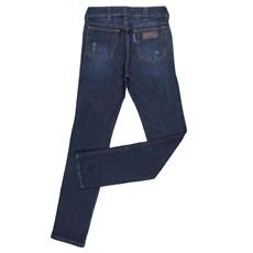 Calça Jeans Desfiada Rodeo Western Masculina com Elastano 24720