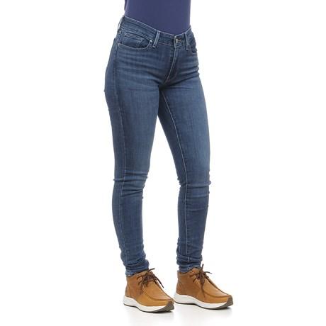 Calça Jeans Feminina 711 Skinny Azul Levi's 29214