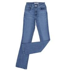 Calça Jeans Feminina Azul Cós Alto Boot Cut Levi's 28193