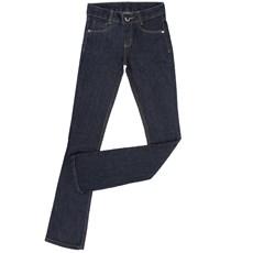 Calça Jeans Feminina Azul Escuro Cintura Media Boot Cut- Country & Cia 18734