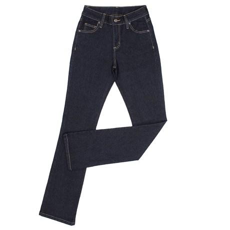 Calça Jeans Feminina Azul Escuro Dock´s 23918