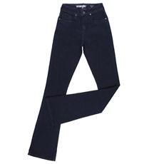 Calça Jeans Feminina Azul Escuro Flare Original Wrangler 23983
