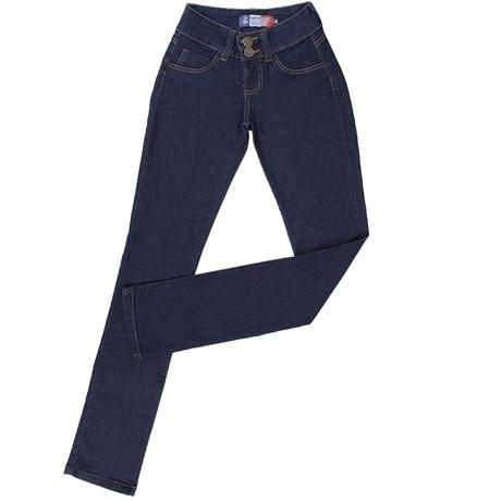 Calça Jeans Feminina Azul Escuro Texas Power Amaciada - Rodeo Western 16955