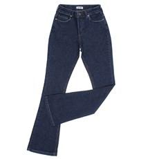 Calça Jeans Feminina Azul Flare Original Wrangler 28200