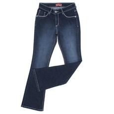Calça Jeans Feminina Azul Flare Smith Brothers 28241