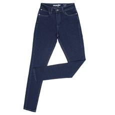 Calça Jeans Feminina Azul Skinny com Elastano Original Wrangler 28391