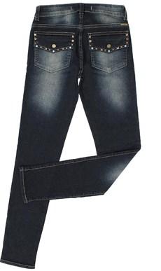 Calça Jeans Feminina Azul Skinny Tassa Gold 21395