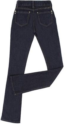 Calça Jeans Feminina Boot Cut Azul Escuro Country & Cia 20371