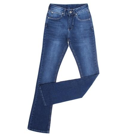 Calça Jeans Feminina Boot Cut com Elastano Original Wrangler 26642