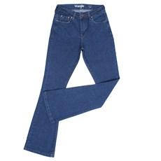 Calça Jeans Feminina Cintura Alta Sally Flare Original Wrangler 28651