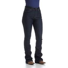 Calça Jeans Feminina com Elastano Wrangler Original Azul 27295