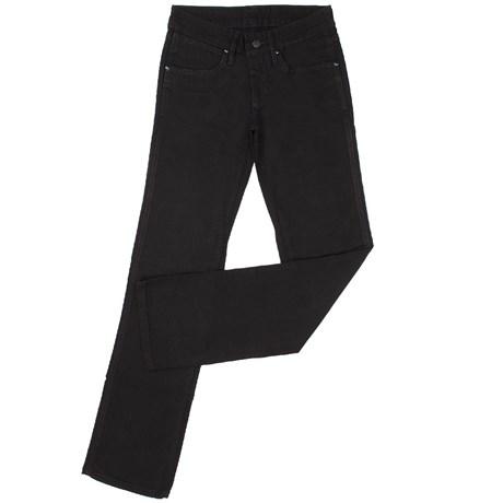 35ca3129c Calça Jeans Feminina Cowboy Cut Stretch Preta - Tassa 10381 - Rodeo West