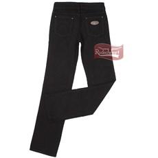 Calça Jeans Feminina Cowboy Cut Stretch Preta - Tassa 10381