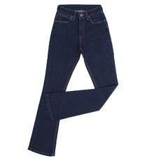 Calça Jeans Feminina Flare Azul com Elastano Wrangler 29127