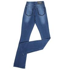 7829bd62a ... Calça Jeans Feminina Flare Bordada Dock's 24270