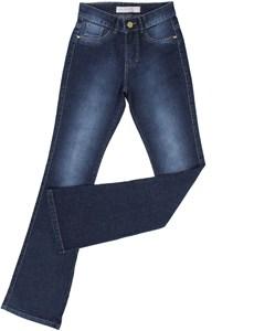 Calça Jeans Feminina Flare King Farm Azul 21530