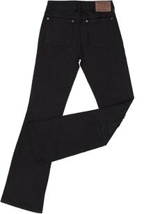 Calça Jeans Feminina Preta Boot Cut com Elastano  - Tassa Gold 18036