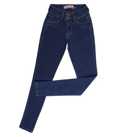 Calça Jeans Feminina Skinny Azul Destroyer Rodeo Western 26352