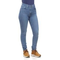 Calça Jeans Feminina Skinny Cós Alto Azul com Elastano 721 Levi's 29887
