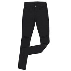 Calça Jeans Feminina Skinny Preta com Elastano Tassa Gold 24852