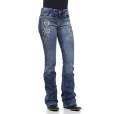 Calça Jeans Feminina Tassa Gold Azul Boot Cut 23967