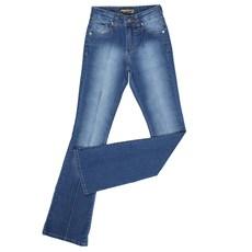 Calça Jeans Flare Feminina Azul Dock's 24034