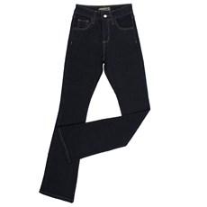 Calça Jeans Flare Feminina Azul Escuro Dock's 24272