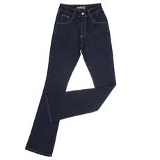 Calça Jeans Flare Feminina Azul Escuro Dock's 29290
