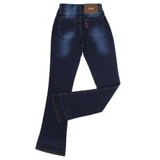 Calça Jeans Flare Feminina Azul Rodeo Western 22652