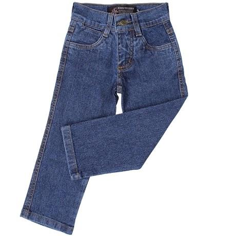 Calça Jeans Infantil Azure Cross Hiper Destroier - Rodeo Western 15342
