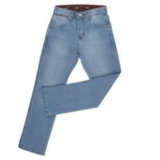 Calça Jeans Infantil com Elastano Azul Claro Original Wrangler 26135