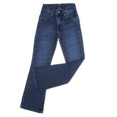 Calça Jeans Infantil Feminina Azul Boot Cut Tassa Gold 30008