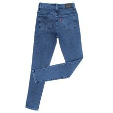 Calça Jeans Infantil Feminina Skinny Cós Alto Azul Claro 720 Levi's 29999
