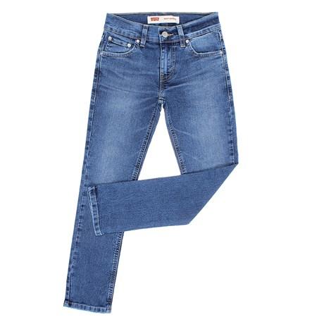 Calça Jeans Infantil Masculina 510 Skinny Azul com Elastano Levi's 29888