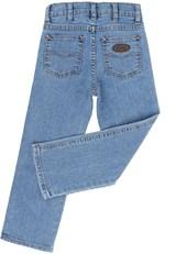Calça Jeans Infantil Masculina Azul Claro Cowboy Cut - Tassa Boys 19370